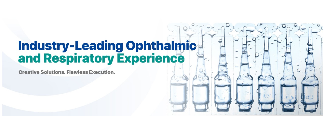 Industry-Leading Ophthalmic and Respiratory Experience